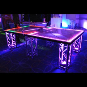 Black Light Ping Pong Table