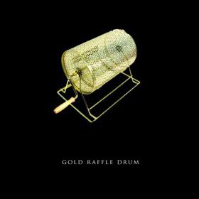 Gold Raffle Drum