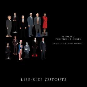 Political life-Sized Cutouts