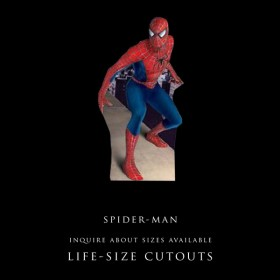 Spiderman Life Sized Cutout