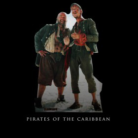 Pirates of the Caribbean Cutouts