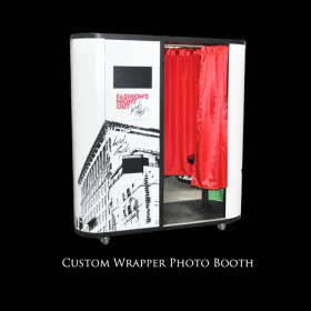 Custom Wrapper Photo Booth