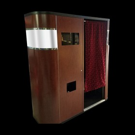 Faux Wood Premium Photo Booth