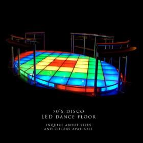 70's LED Dancefloor
