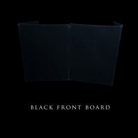 Black Front Board