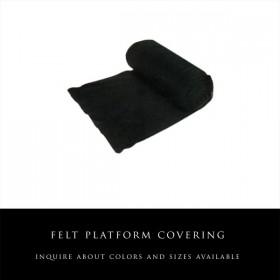 Felt Platform Covering